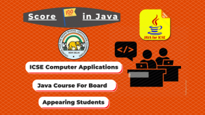 ICSE Java Booster Course